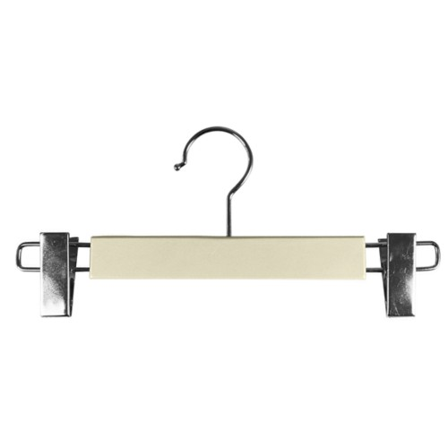 Hanger with clips - Off-White - Smooth Leather