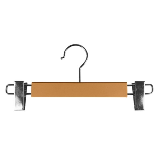 Hanger with clips - Natural - Smooth Leather