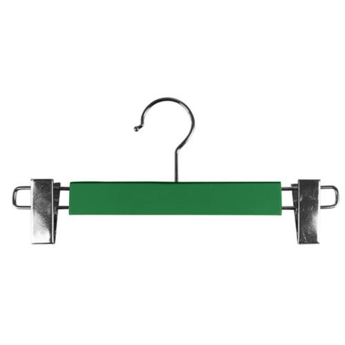 Kleerhanger met clips - Lichtgroen - Soepel Leer