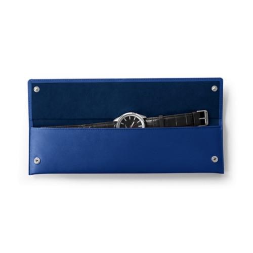 Rechteckige Uhrentasche