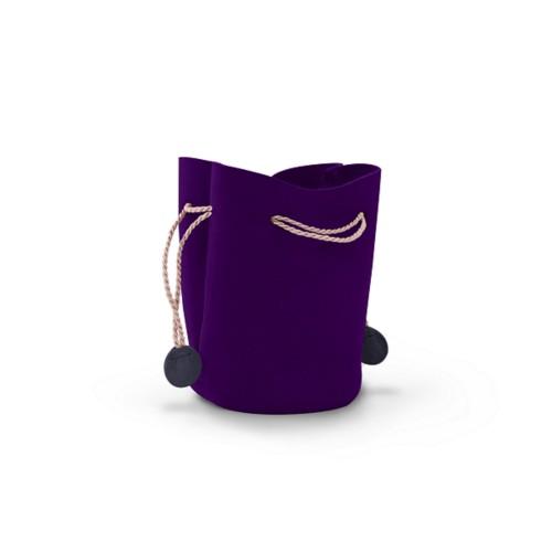 Small drawstring purse (ø 6 cm)