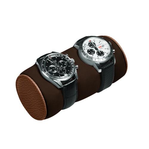 Coussin de présentation pour deux montres
