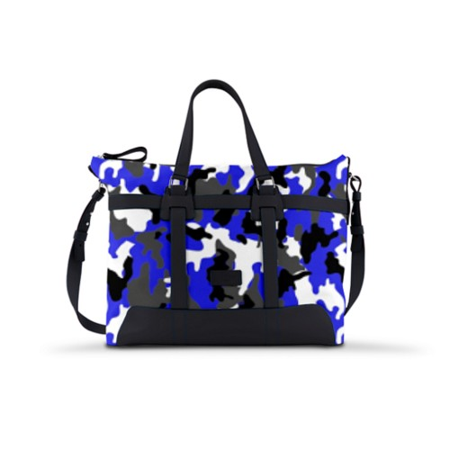 Carry-on bag - Royal Blue-Black - Camouflage