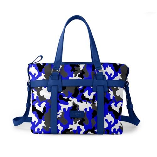 Shopper bag - Royal Blue - Camouflage
