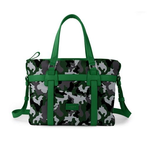 Shopper bag - Light Green - Camouflage