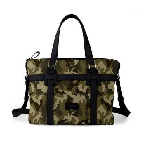 Shopper bag - Dark Green-Black - Camouflage