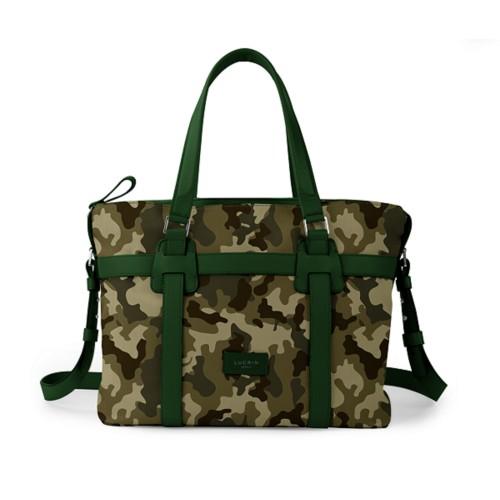 Shopper bag - Dark Green - Camouflage