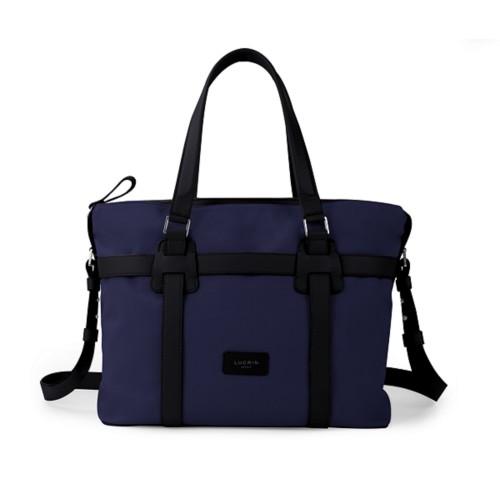 Shopper bag - Navy Blue-Black - Canvas