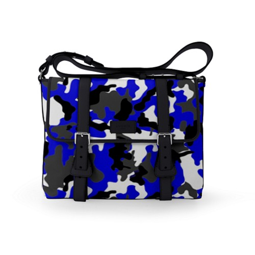 Mailbag - Royal Blue-Black - Camouflage