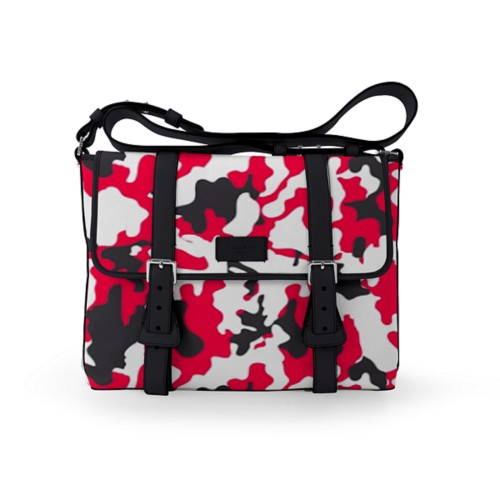 Mailbag - Red-Black - Camouflage