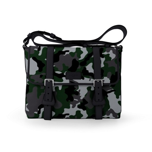 Mailbag - Light Green-Black - Camouflage
