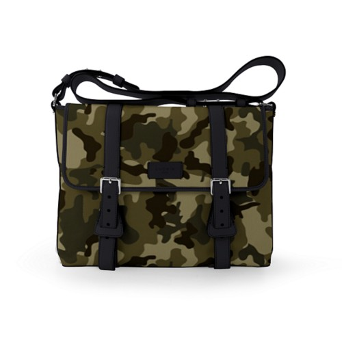 Mailbag - Dark Green-Black - Camouflage