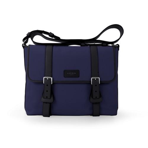 Mailbag - Navy Blue-Black - Canvas
