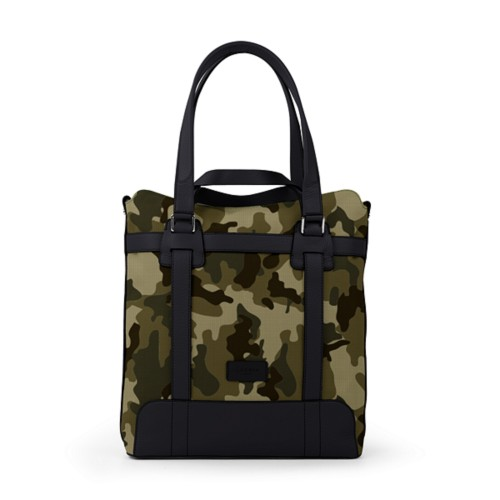 Tote bag - Dark Green-Black - Camouflage