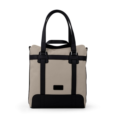 Tote bag - Beige-Black - Canvas