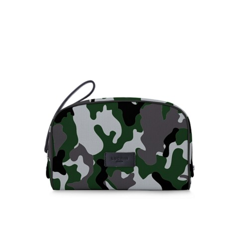 Cosmetic bag - Light Green - Camouflage