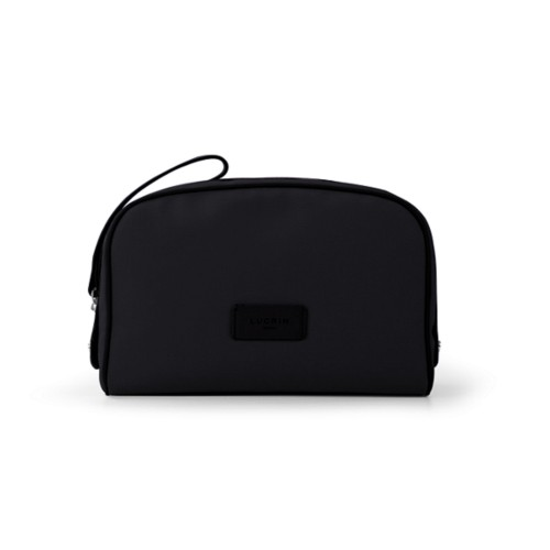 Cosmetic bag - Black-Black - Canvas