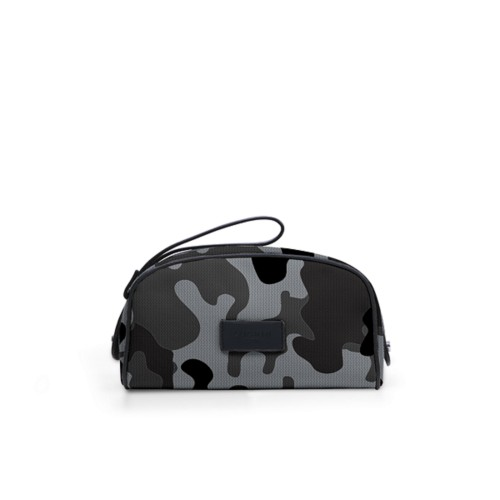 Half-moon dopp kit - Mouse-Grey - Camouflage