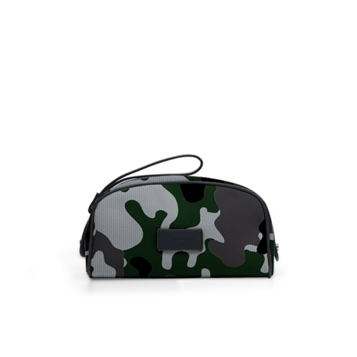 Half-moon dopp kit - Light Green - Camouflage