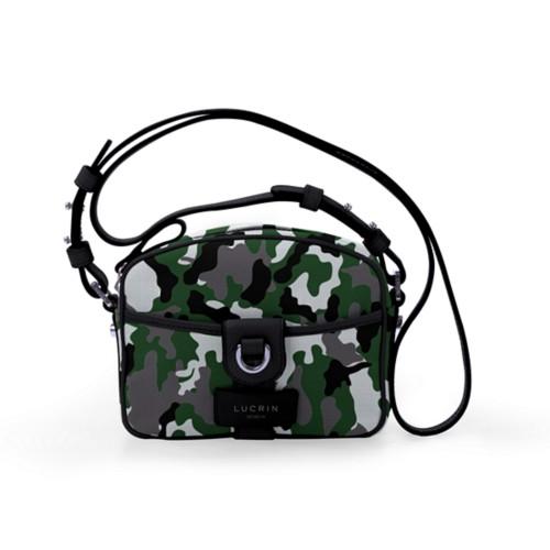 Petit sac bandoulière - Vert-Noir - Camouflage