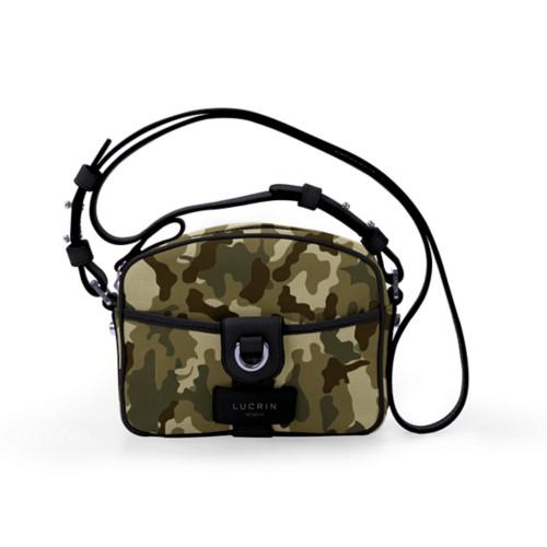 Petit sac bandoulière - Vert Foncé-Noir - Camouflage