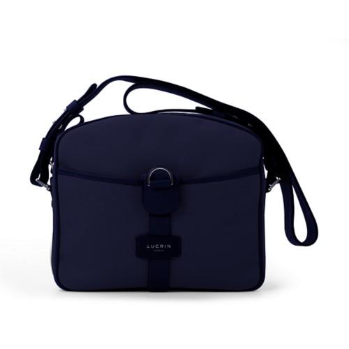 コンパクト メッセンジャーバッグ - Navy Blue - Canvas