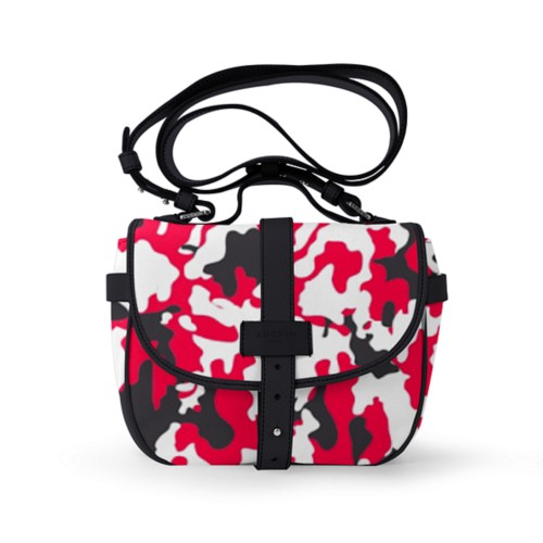Side bag - Red-Black - Camouflage