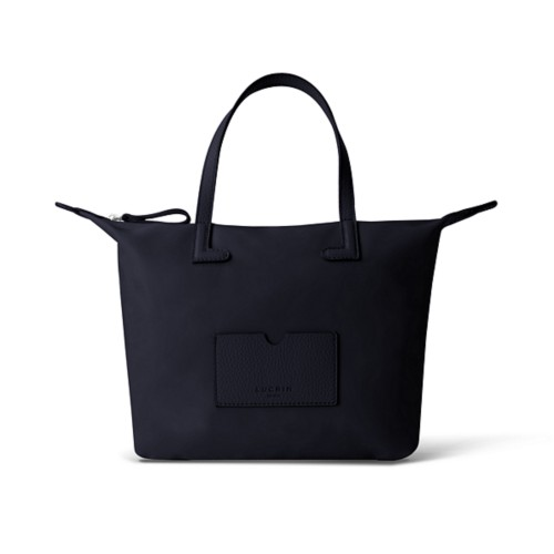 ミディアムハンドバッグ - Navy Blue-Navy Blue - High-end nylon