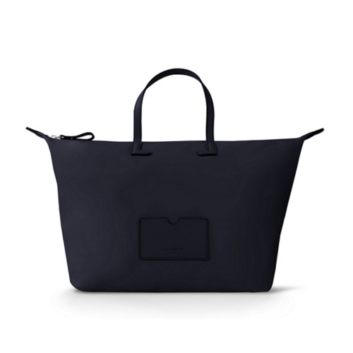 ラージハンドバッグ  - Navy Blue-Navy Blue - High-end nylon