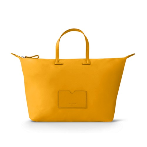 Große Handtasche - Sonnengelb-Sonnengelb - Canvas
