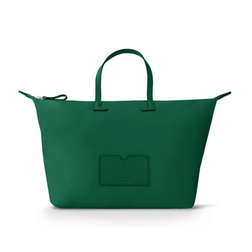 Large handbag - Dark Green-Dark Green - High-end nylon