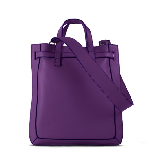 L25 Tote Bag - Lavender - Smooth Leather