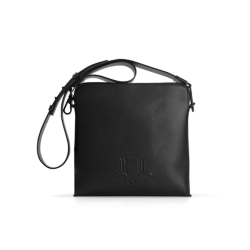 L25 Messenger Bag - Limited Edition - Black - Premium Calfskin