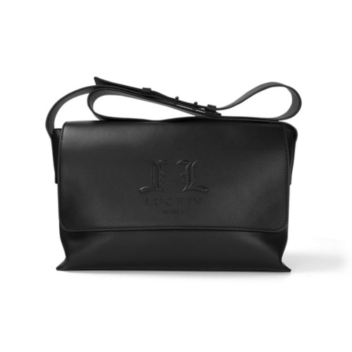 Flap Bag L25 - Limited Edition - Black - Premium Calfskin