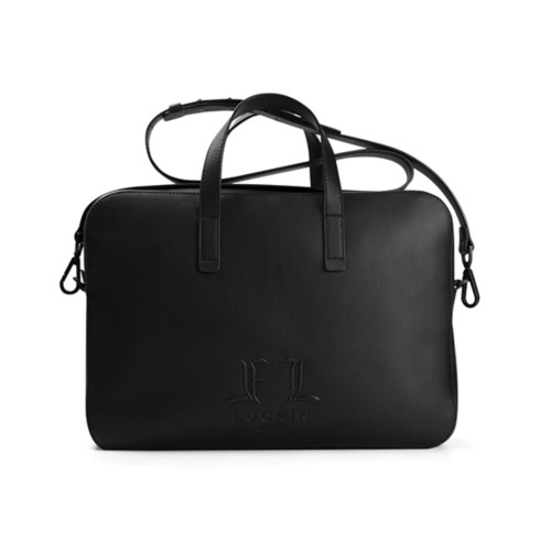 Laptop Bag L25 - Limited Edition - Black - Premium Calfskin
