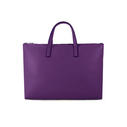L25 Handtasche - Lavendel - Glattleder
