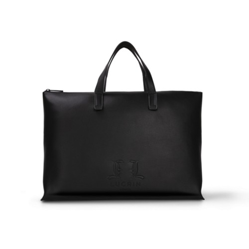 Handbag Tote L25 - Limited Edition - Black - Premium Calfskin