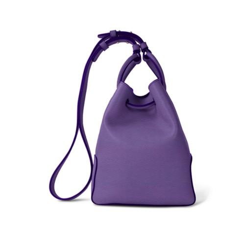 L25 Bucket Bag - Lavender - Granulated Leather