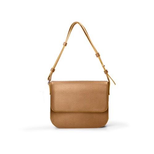 L25 Small Shoulder Bag - Natural - Granulated Leather