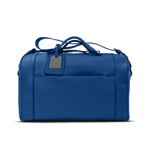 Holdall - Royal Blue - Granulated Leather