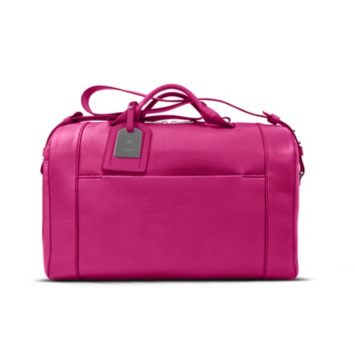 Holdall - Fuchsia - Granulated Leather