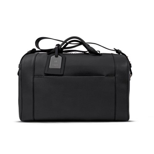 Holdall - Black - Granulated Leather