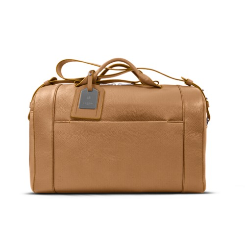 Holdall - Natural - Granulated Leather