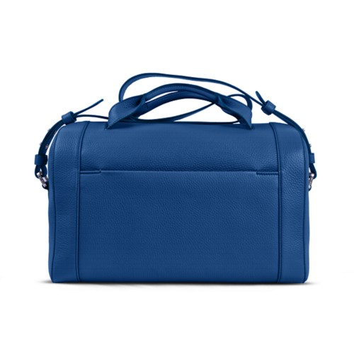 Weekender - Royal Blue - Granulated Leather