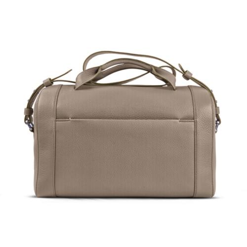 Weekender - Mink - Granulated Leather