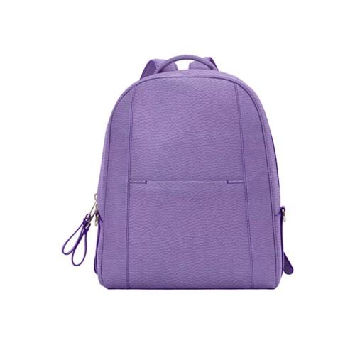 バックパック - Lavender - Granulated Leather