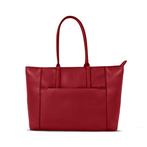 Tote - Amaranto - Granulated Leather