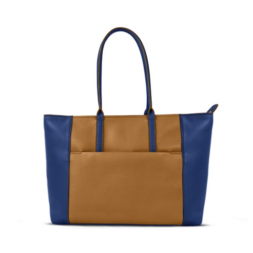 Tote - Flake-Submarine - Granulated Leather