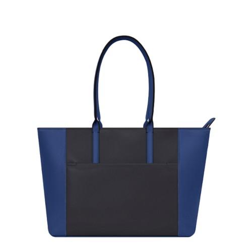Tote - Black-Submarine - Granulated Leather