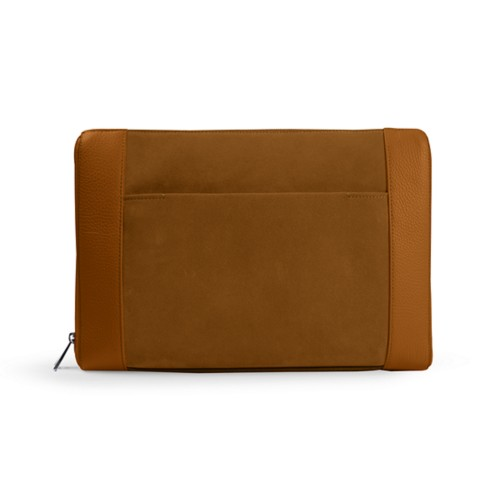Document case 13 inches - Flake - Suede Calf